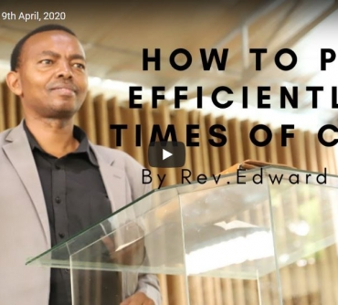 How to pray effective prayers during challenging times